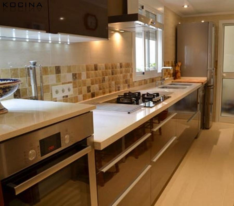 Cocina de diseño en Sevilla (Mª Angeles) - Kocina