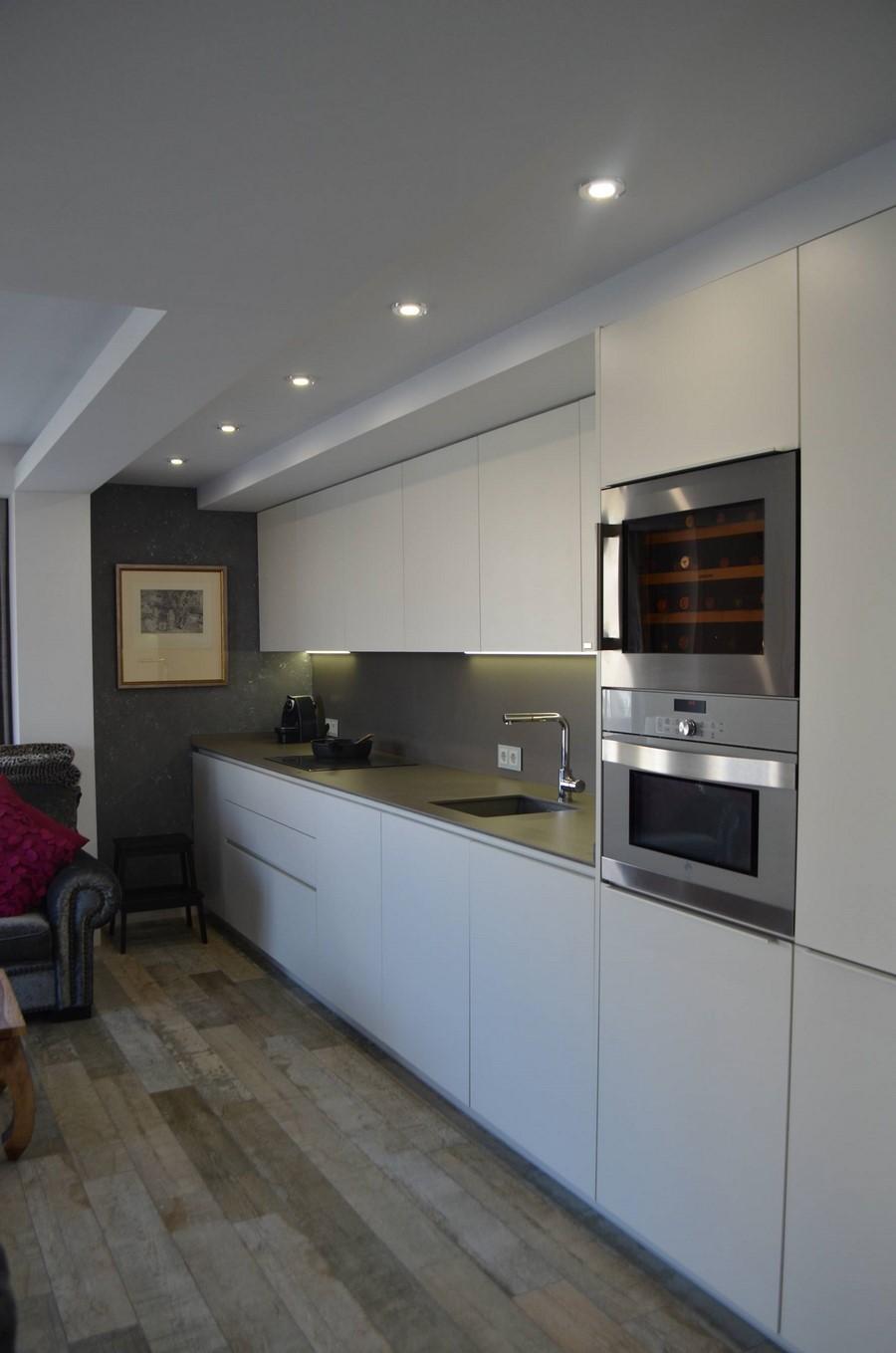 Cocina diseño integrada en el salón - Kocina